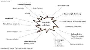 Hypnosystemik — Grafik von möglichen Faktoren von Problemerleben