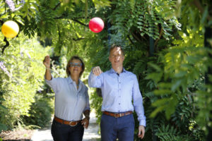 Coaches Ute Niepenberg und Marcus Rosik coachen zum Thema